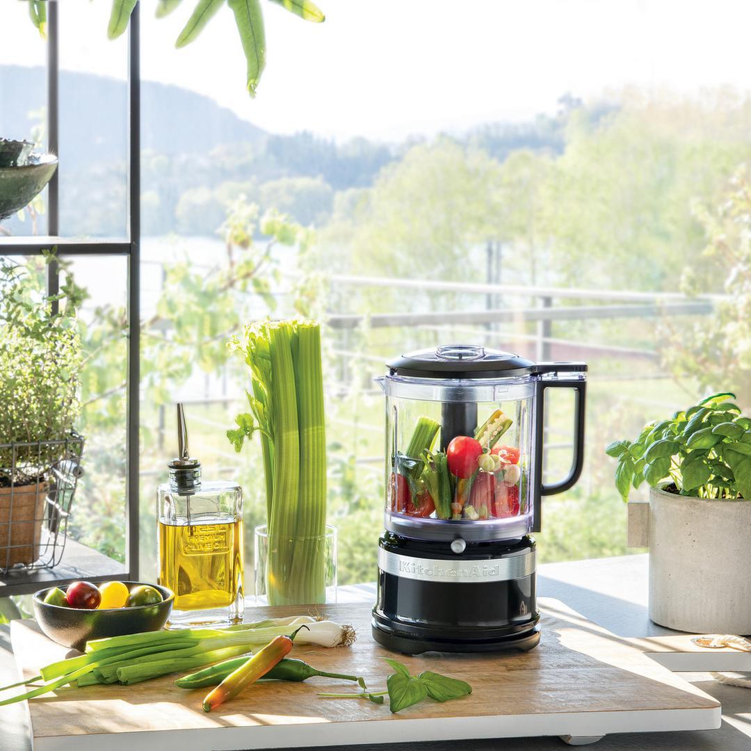Kitchenaid 1,19 L Mutfak Robotu 5KFC0516 Onyx Black-EOB