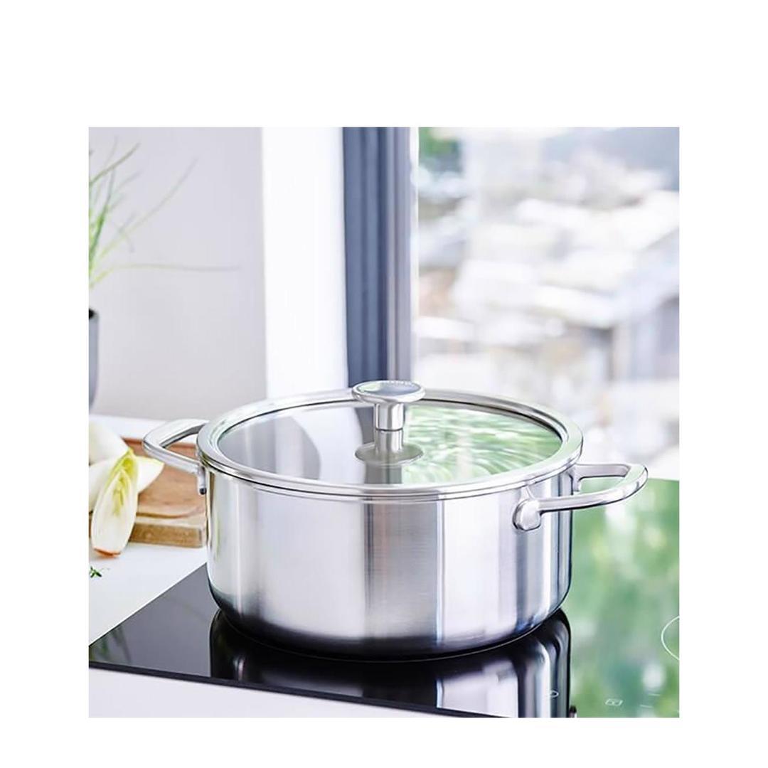 Kitchenaid Art. 3 Katlı 20cm Çelik  Tencere -CC003259