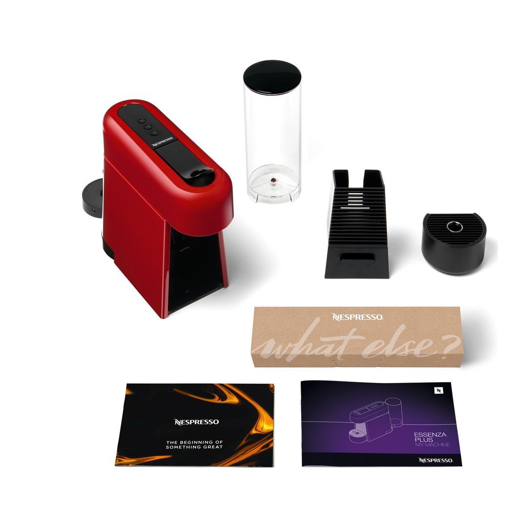 Nespresso D45 Essenza Plus Kırmızı Kapsül Kahve Makinesi