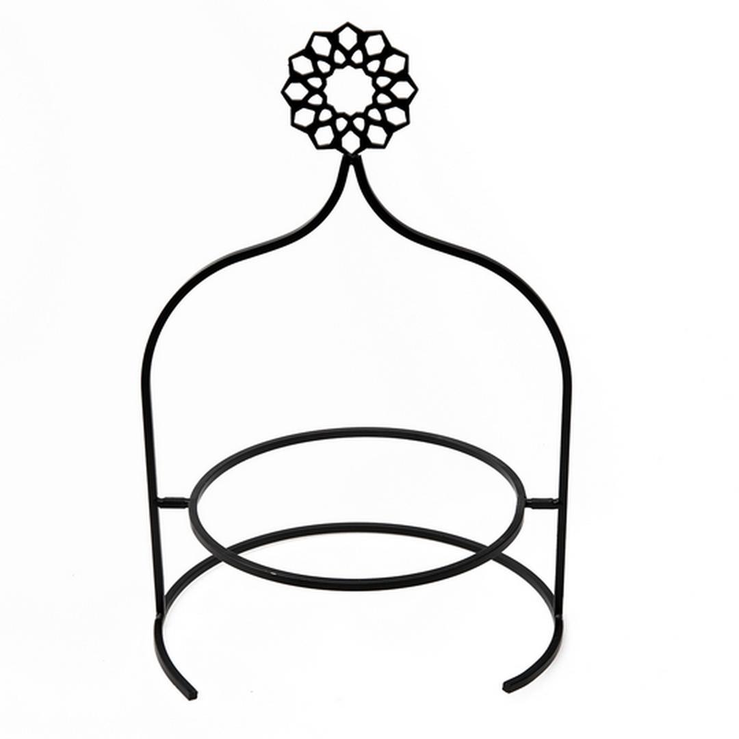 Jumbo Roya Siyah Yıldız Tabaklık