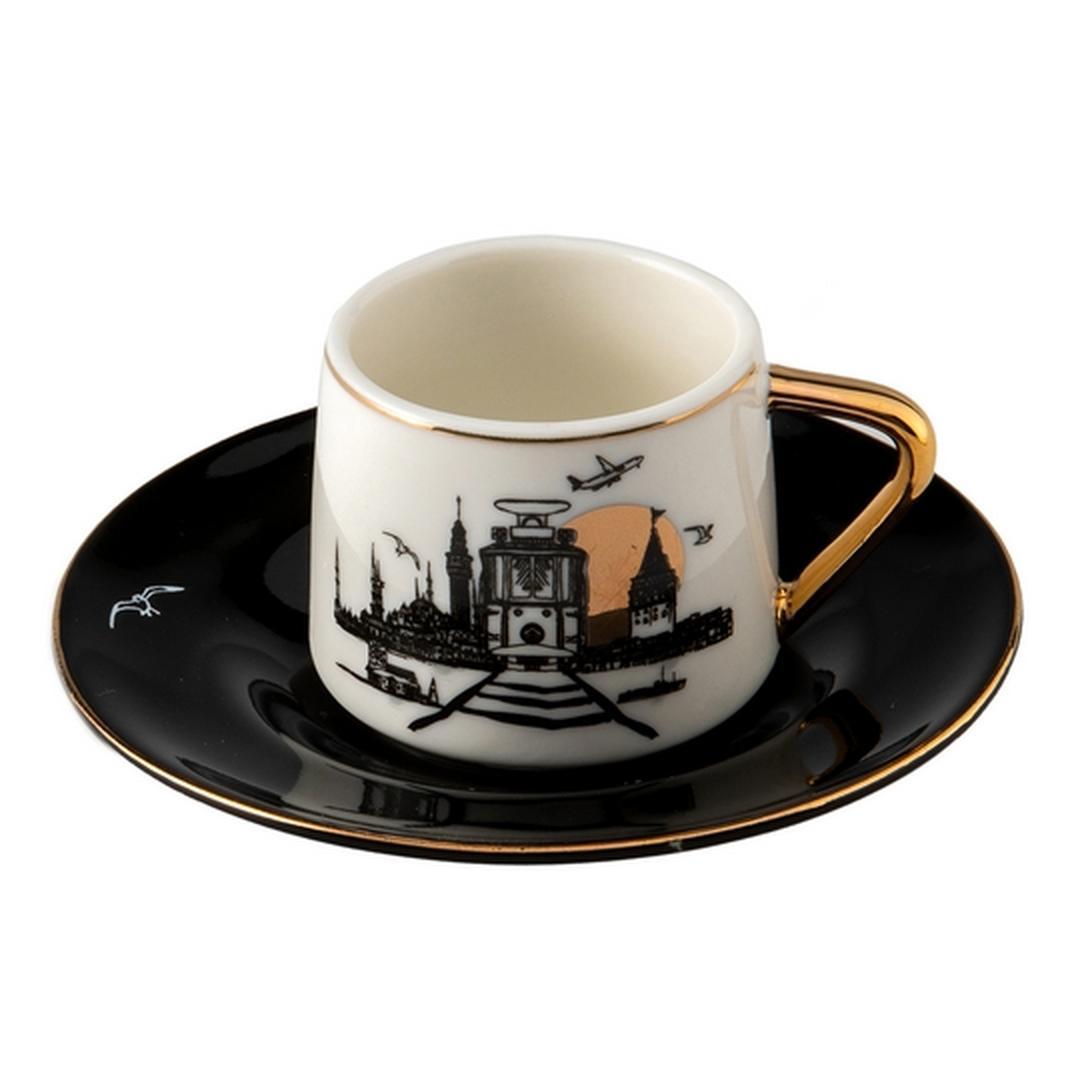 Jumbo Bosphorus 2 Kişilik Kahve Fincan Takımı