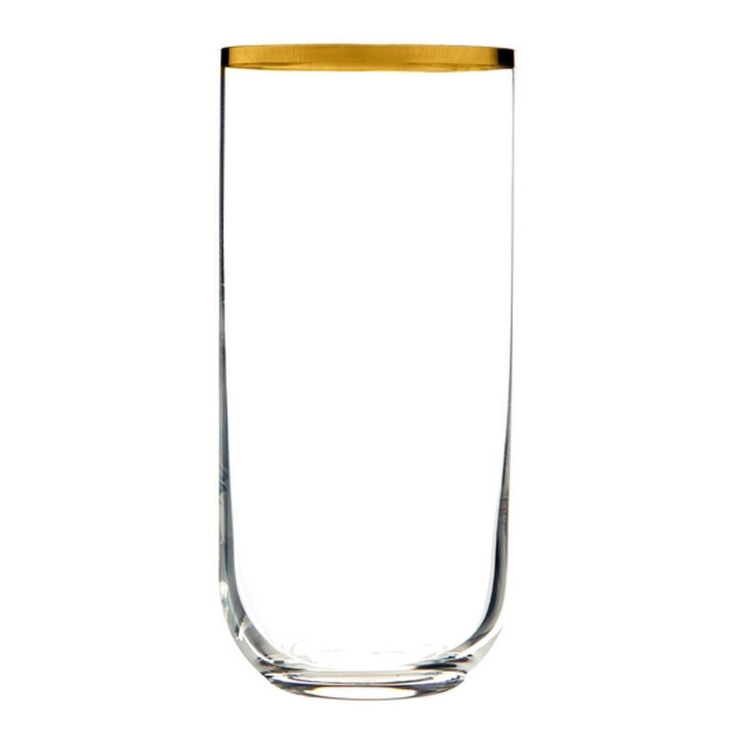 Jumbo Ronat  Altın Rimli 6'lı Meşrubat  Bardağı