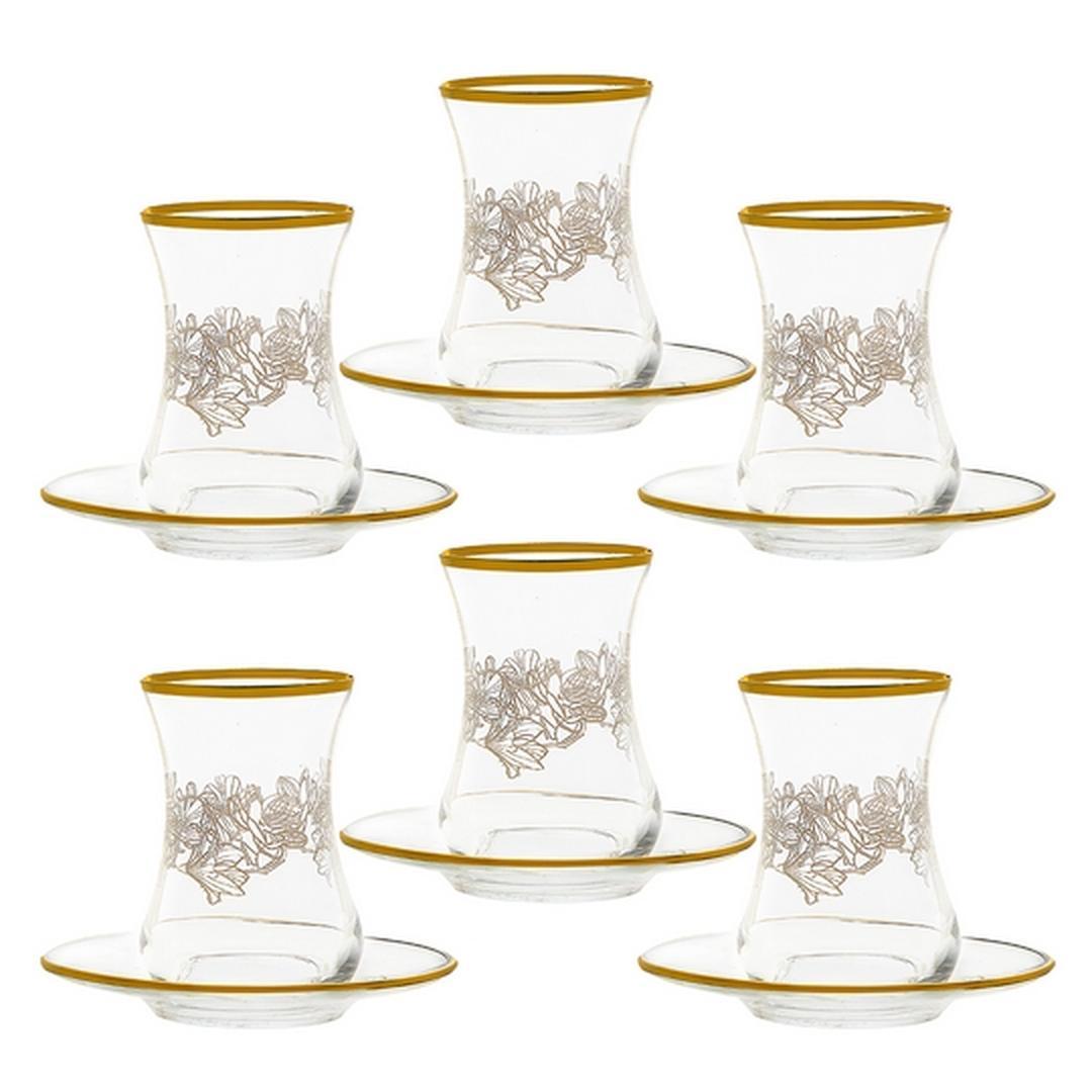 Jumbo Daniella 12 Parça Çay  Bardağı Takımı