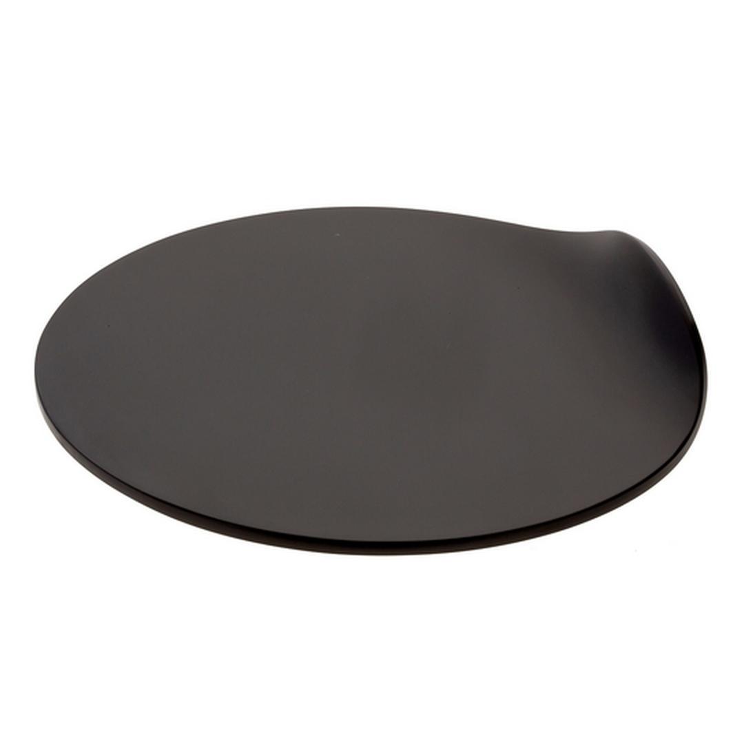Jumbo Plain 29 cm Peynir Sunum Tabağı (Siyah)