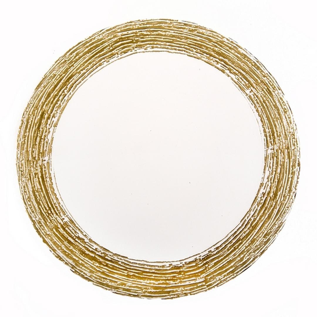 Jumbo Ada  32 cm Düz Altın  Supla