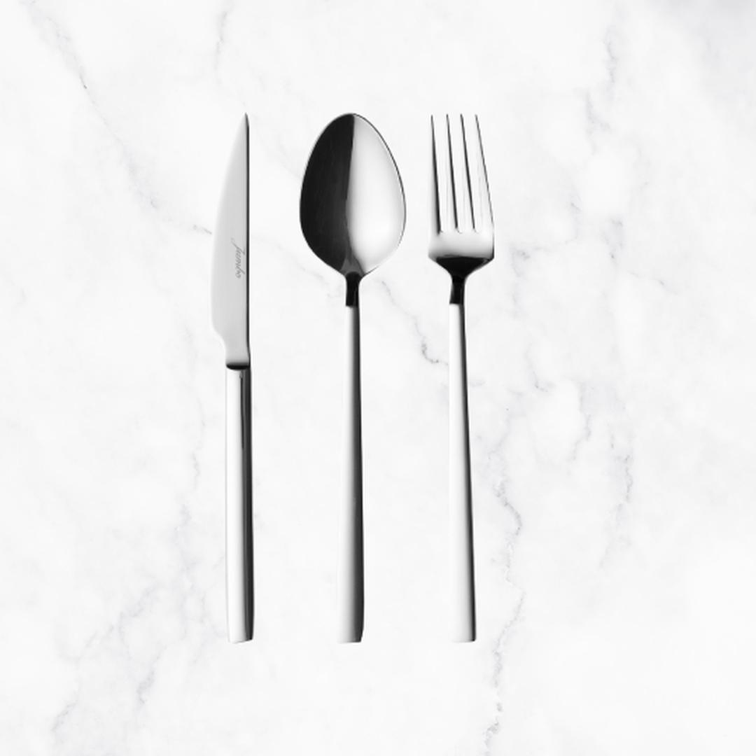 Jumbo 1800 18 Parça Çatal Kaşık Bıçak Yemek Seti