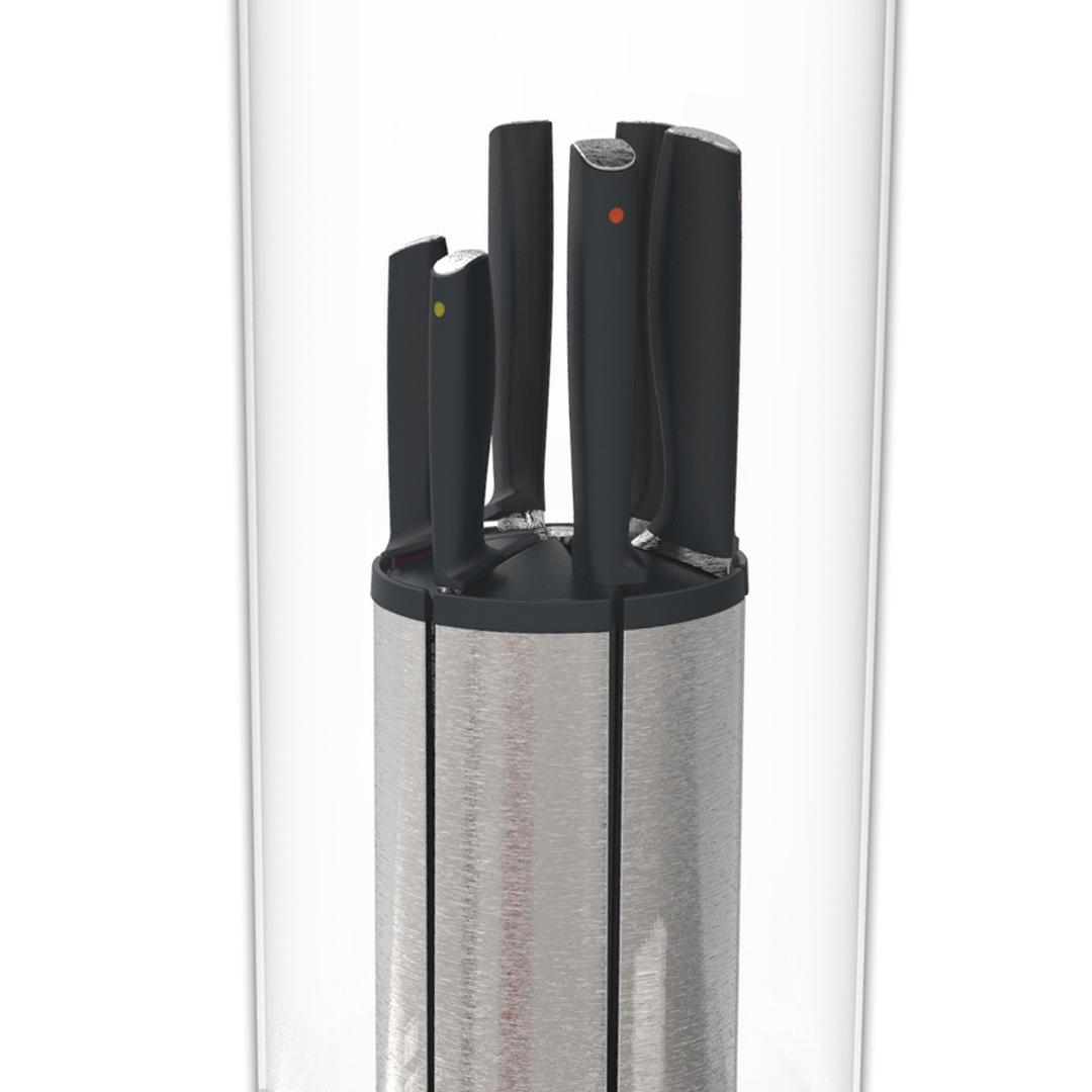 Joseph&Joseph 95034 100 Collection Elevate 5'li Carousel Bıçak Set