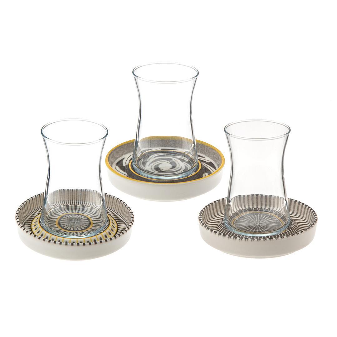 Jumbo Hypnose 6 Kişilik Çay Seti
