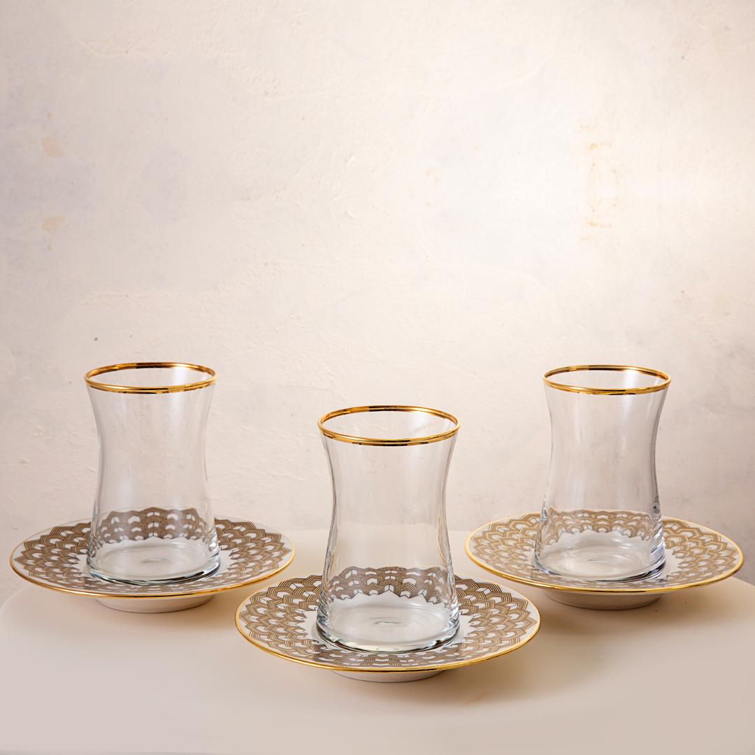 Jumbo Armonia Efes 12 Parça Çay  Bardağı Takımı