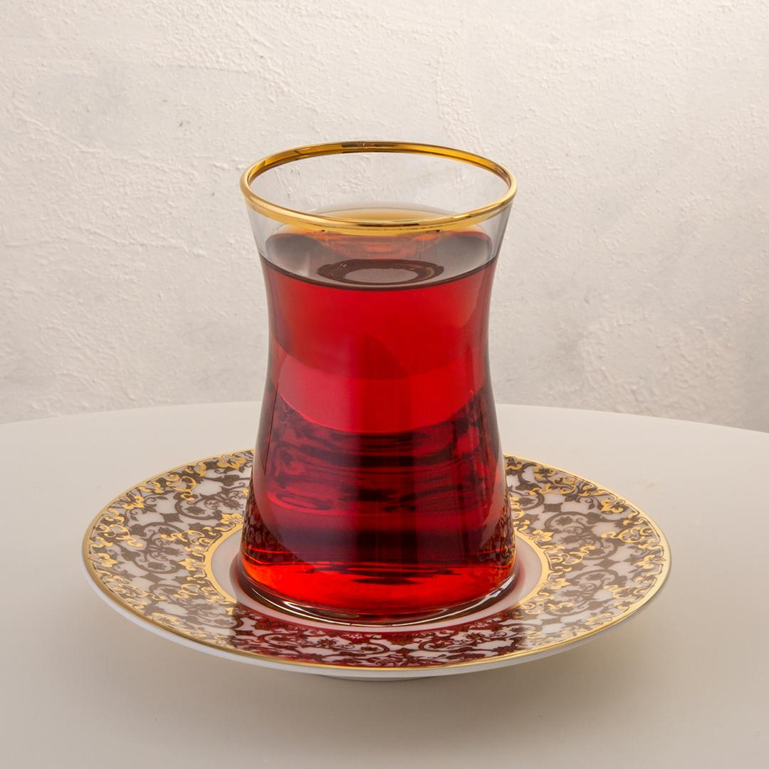 Jumbo Armonia Vintage 12 Parça Çay Bardağı Takımı