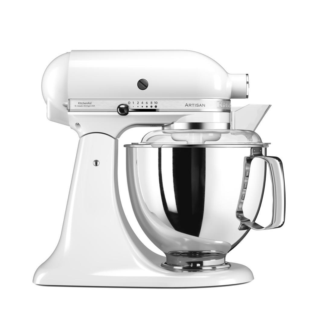 Kitchenaid 4,8L Stand Mikser 5KSM175PS White-EWH