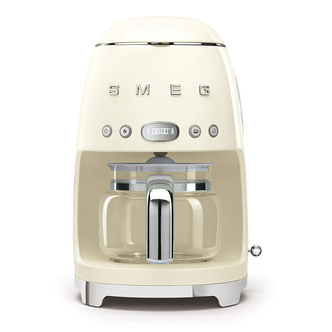 Smeg- Linea 50's Retro Style- Filtre Kahve Makinesi - Cream Dcf02creu