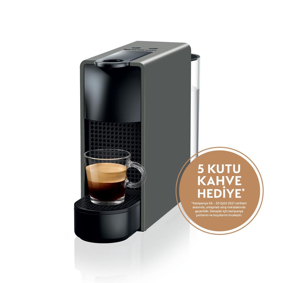 Nespresso Essenza Mini C30 Grey Kapsül Kahve Makinesi