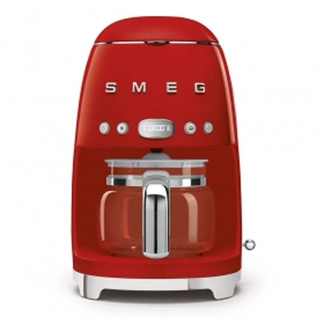 Smeg- Linea 50's Retro Style- Filtre Kahve Makinesi- Red Dcf02rdeu