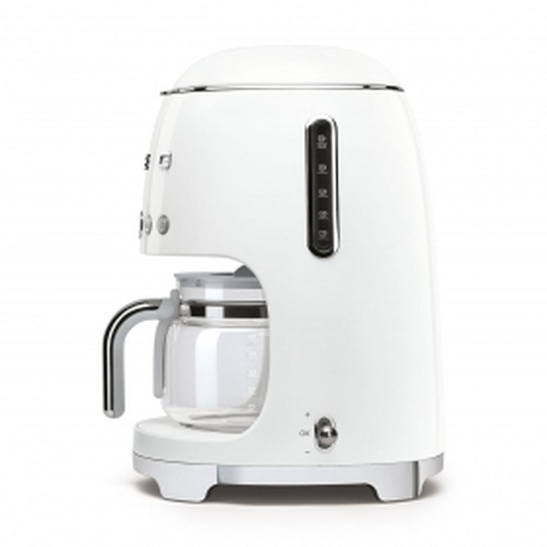 Smeg- Linea 50's Retro Style- Filtre Kahve Makinesi - White Dcf02wheu