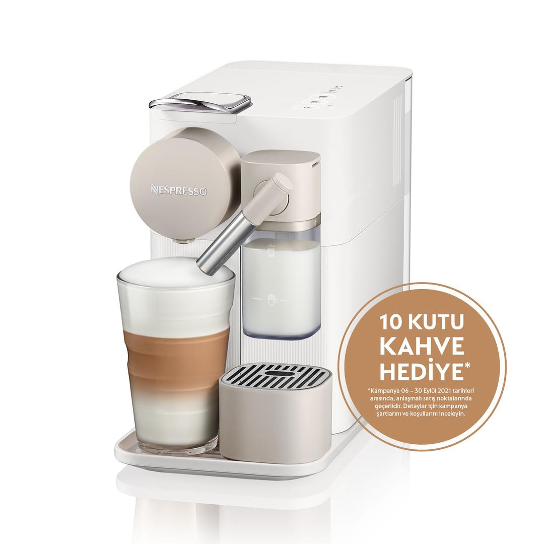 Nespresso F111 Lattissima One White Kapsül Kahve Makinesi