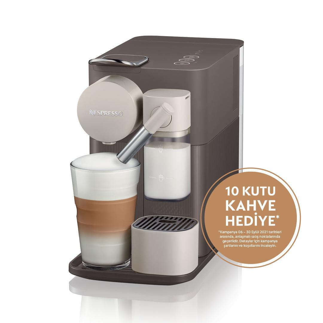 Nespresso F111 Lattissima One Brown Kahve Makinesi