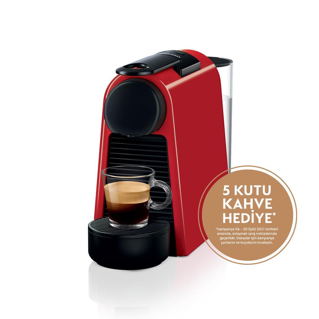 Nespresso Essenza Mini D30 Red Kapsül Kahve Makinesi