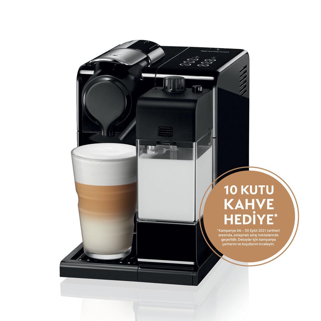 Nespresso F521 Lattissima Black Kahve Makinesi