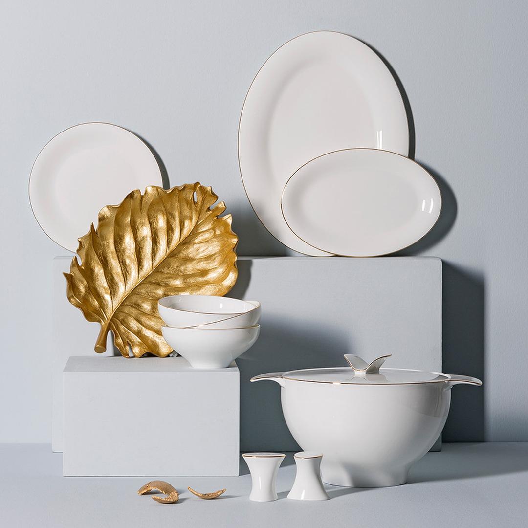 Jumbo Golda 12 Kişilik 61 Parça Yemek Takımı