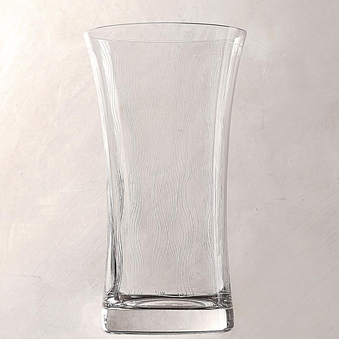 Jumbo Evy Dalga 6'lı Meşrubat Bardağı Seti