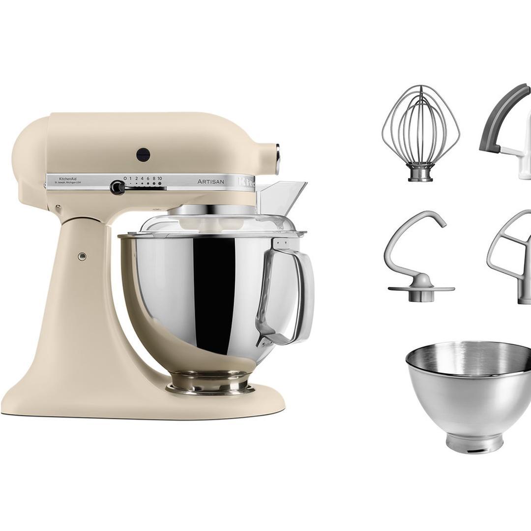 Kitchenaid 4,8L Stand Mikser Fresh Linen-EFL 5KSM175PS