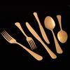 Jumbo Antique Titanyum Gold 12 Kişilik 84 Parça Çatal Kaşık Bıçak Takımı