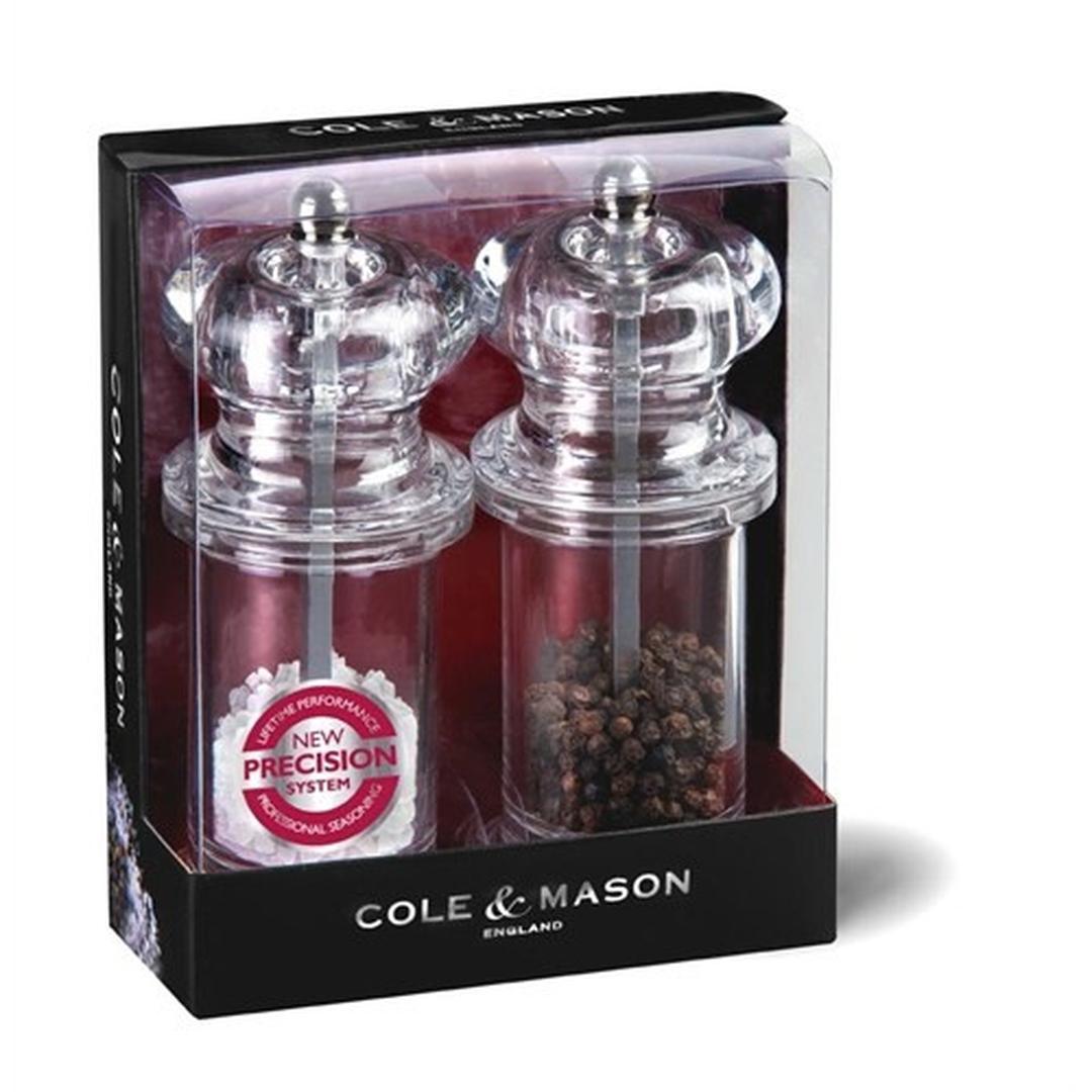 Cole&Mason 505 Precisi 140mm Tuz&Biber Değirmeni Seti H50518